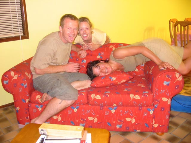 Tripod Couch
